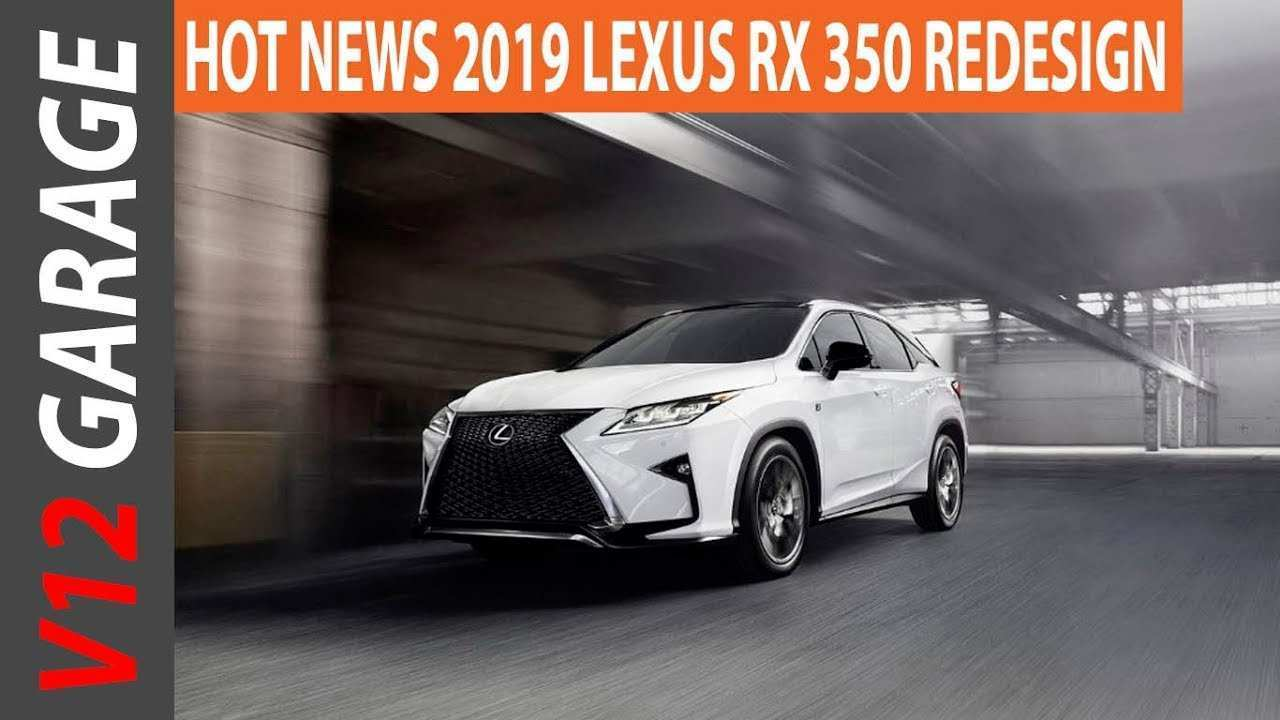 27 Best Review New Lexus Rx 350 Redesign 2019 Release Specs And Review Redesign with New Lexus Rx 350 Redesign 2019 Release Specs And Review