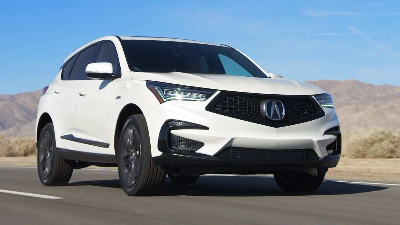 27 Great The Acura Rdx 2019 Release Date Usa Spy Shoot Concept with The Acura Rdx 2019 Release Date Usa Spy Shoot