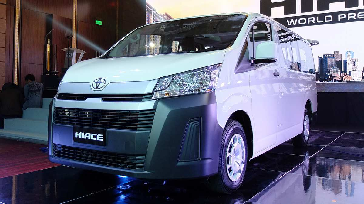 29 The Toyota Hiace 2019 Exterior and Interior for Toyota Hiace 2019