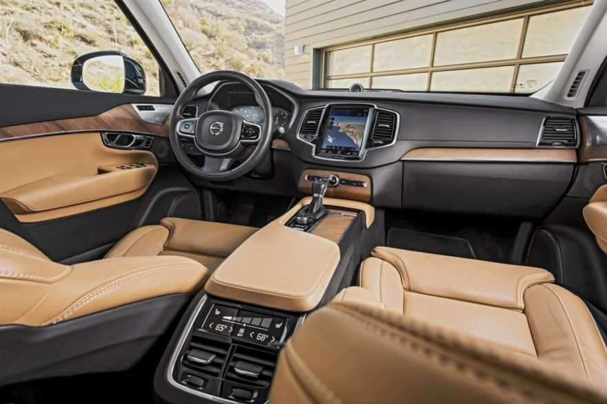 30 Best Review Volvo Xc90 2019 Interior Redesign by Volvo Xc90 2019 Interior