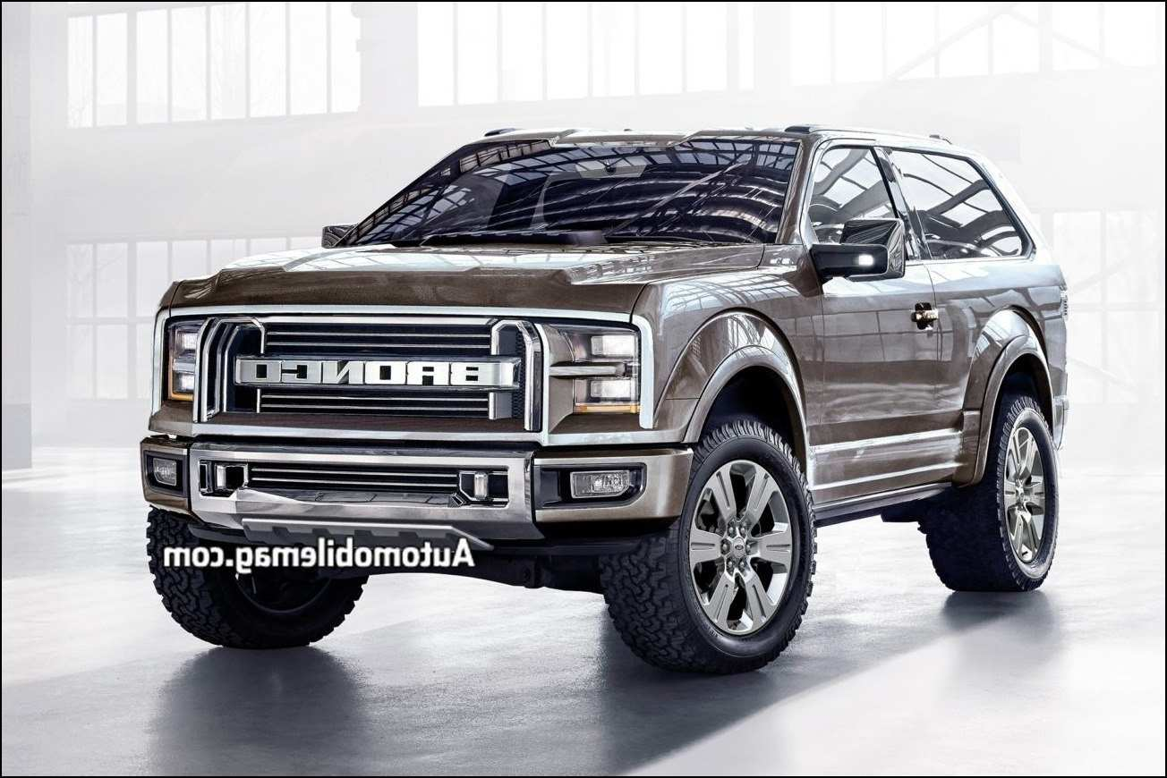 30 The The 2019 Ford Bronco Interior Review Price by The 2019 Ford Bronco Interior Review