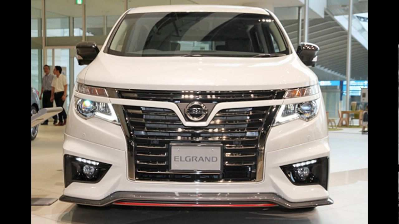 31 All New Best Nissan Elgrand 2019 Concept Performance and New Engine with Best Nissan Elgrand 2019 Concept