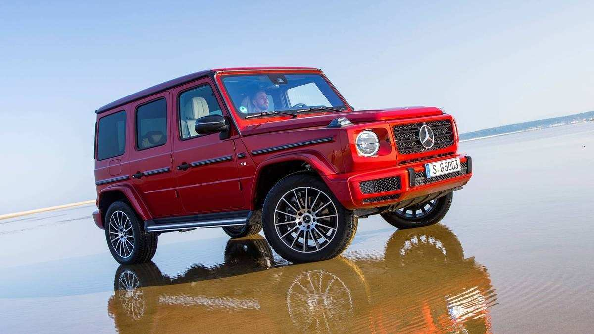 31 All New The Mercedes G 2019 Review Interior Rumors with The Mercedes G 2019 Review Interior