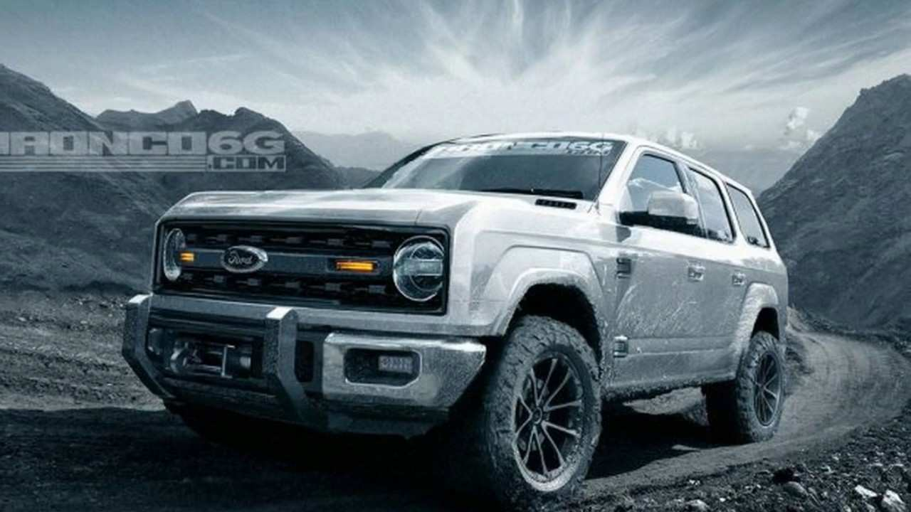 31 Gallery of The 2019 Ford Bronco Interior Review Style for The 2019 Ford Bronco Interior Review