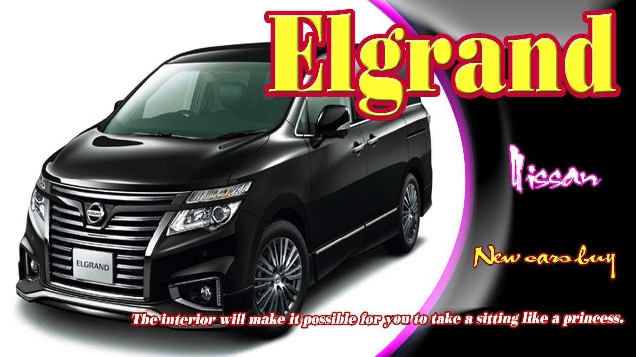 31 New Best Nissan Elgrand 2019 Concept Overview for Best Nissan Elgrand 2019 Concept