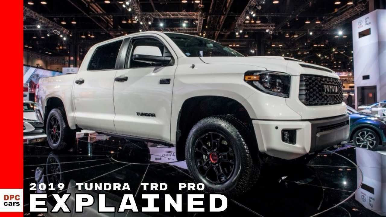 33 Best Review Toyota Tundra Trd Pro 2019 Redesign and Concept by Toyota Tundra Trd Pro 2019