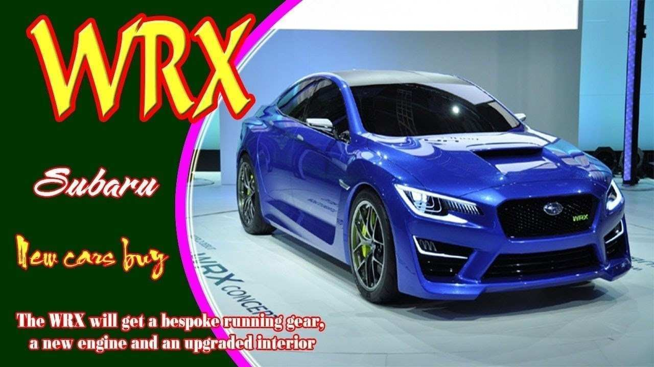33 Gallery of Subaru Wrx 2019 Release Date Performance and New Engine by Subaru Wrx 2019 Release Date