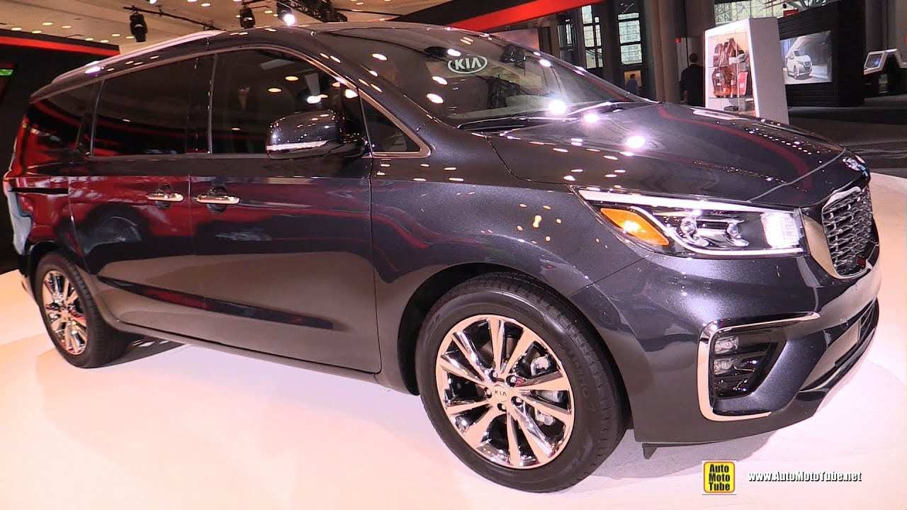 34 Gallery of The Kia Minivan 2019 Exterior Overview for The Kia Minivan 2019 Exterior