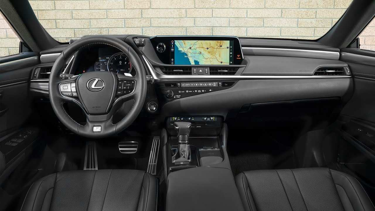 35 All New 2019 Lexus Es 350 Interior Specs and Review with 2019 Lexus Es 350 Interior