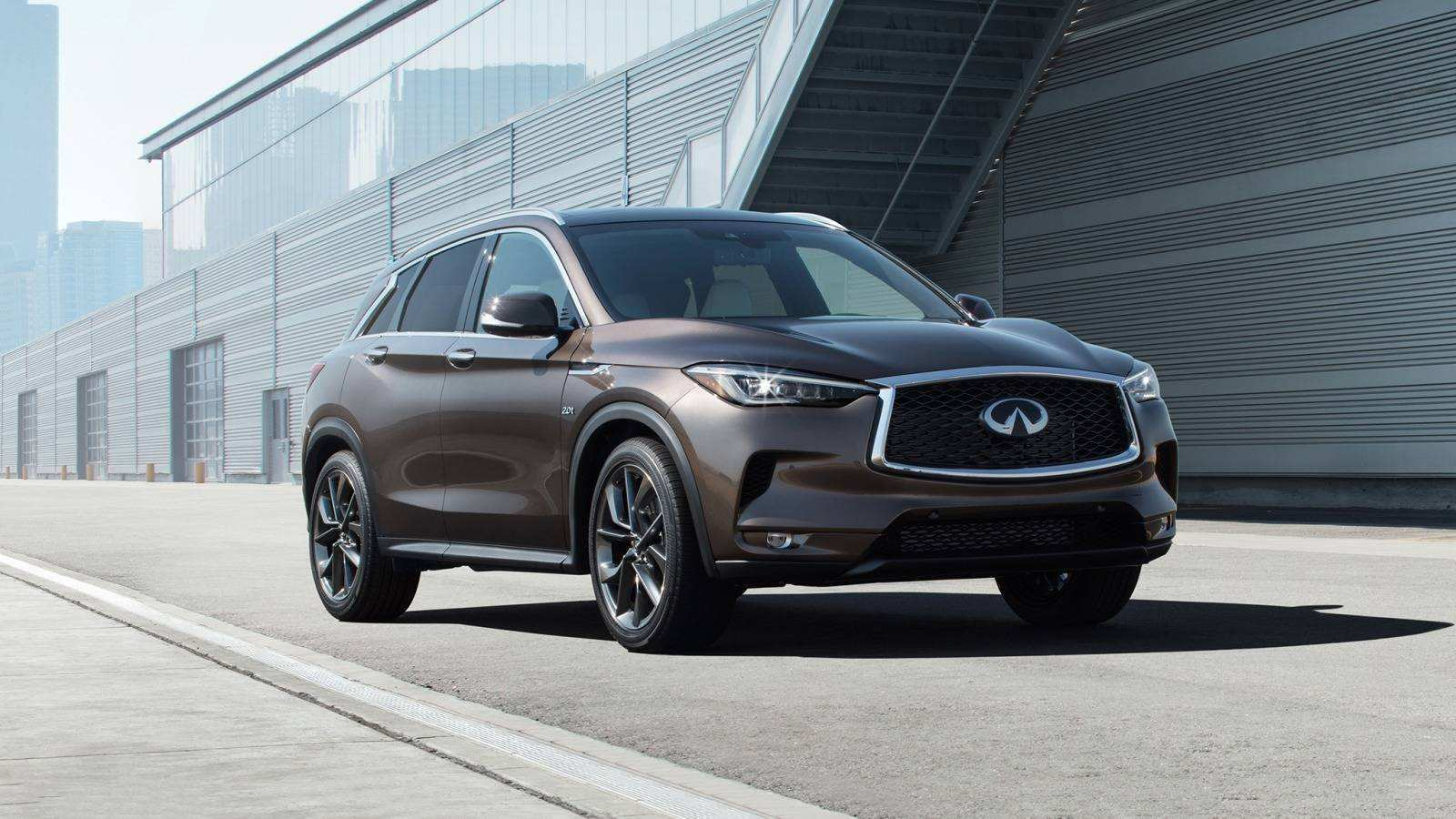 35 Best Review The Infiniti Qx50 2019 Hybrid Concept Spy Shoot with The Infiniti Qx50 2019 Hybrid Concept