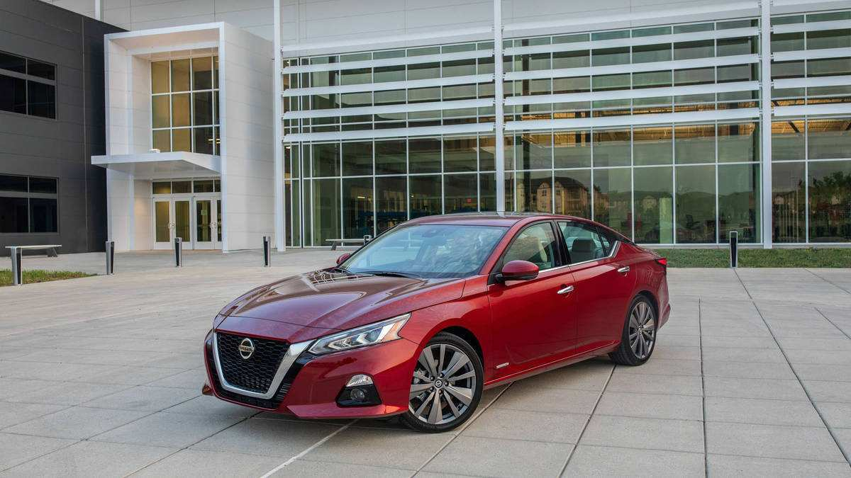 38 All New The 2019 Nissan Altima Horsepower First Drive Interior by The 2019 Nissan Altima Horsepower First Drive