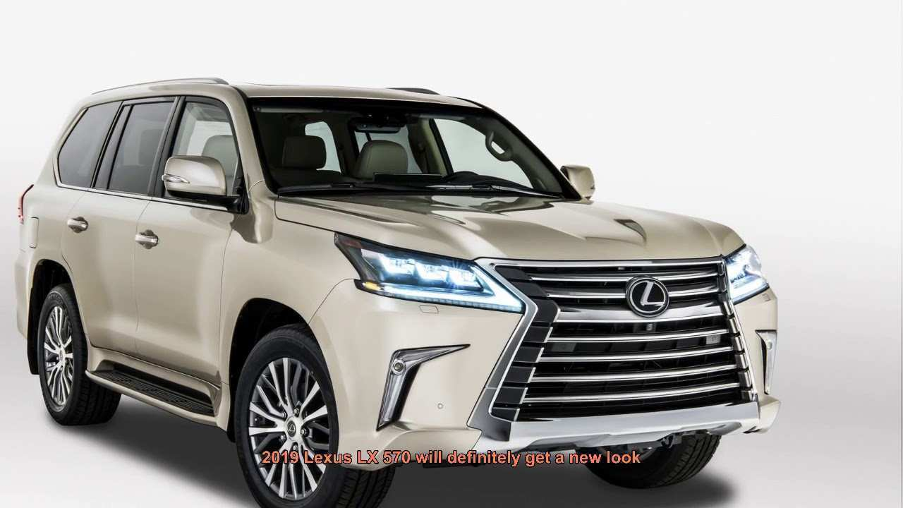 38 Great The Lexus 2019 Lx Redesign And Price Concept for The Lexus 2019 Lx Redesign And Price