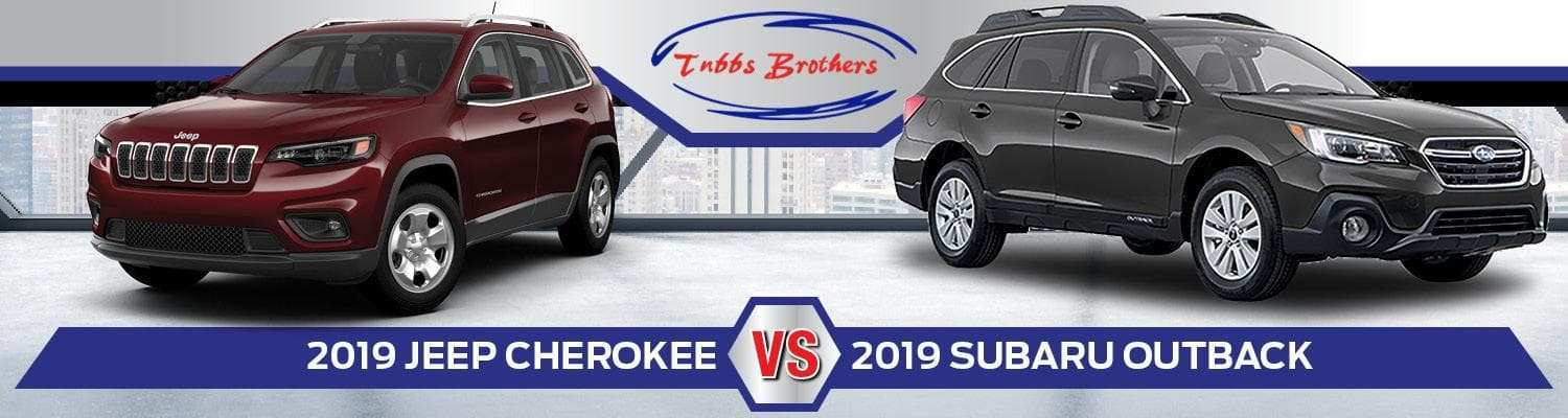 39 Concept of The 2019 Jeep Cherokee Vs Subaru Outback Interior Exterior And Review Prices with The 2019 Jeep Cherokee Vs Subaru Outback Interior Exterior And Review