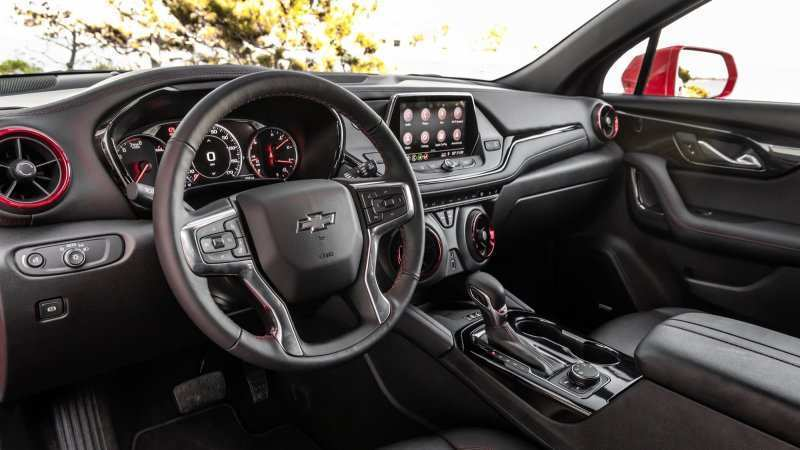 39 The New Blazer Chevrolet 2019 Price Interior Picture by New Blazer Chevrolet 2019 Price Interior