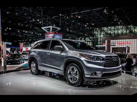 40 Concept of The Toyota Highlander 2019 Redesign Concept Review for The Toyota Highlander 2019 Redesign Concept
