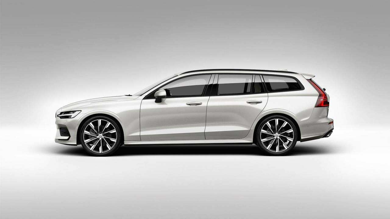 41 Gallery of 2019 Volvo Station Wagon Exterior for 2019 Volvo Station Wagon