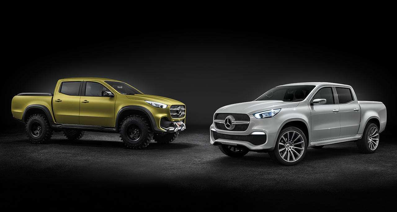 41 The 2019 Mercedes X Class Pickup Truck Release Date Performance and New Engine by 2019 Mercedes X Class Pickup Truck Release Date