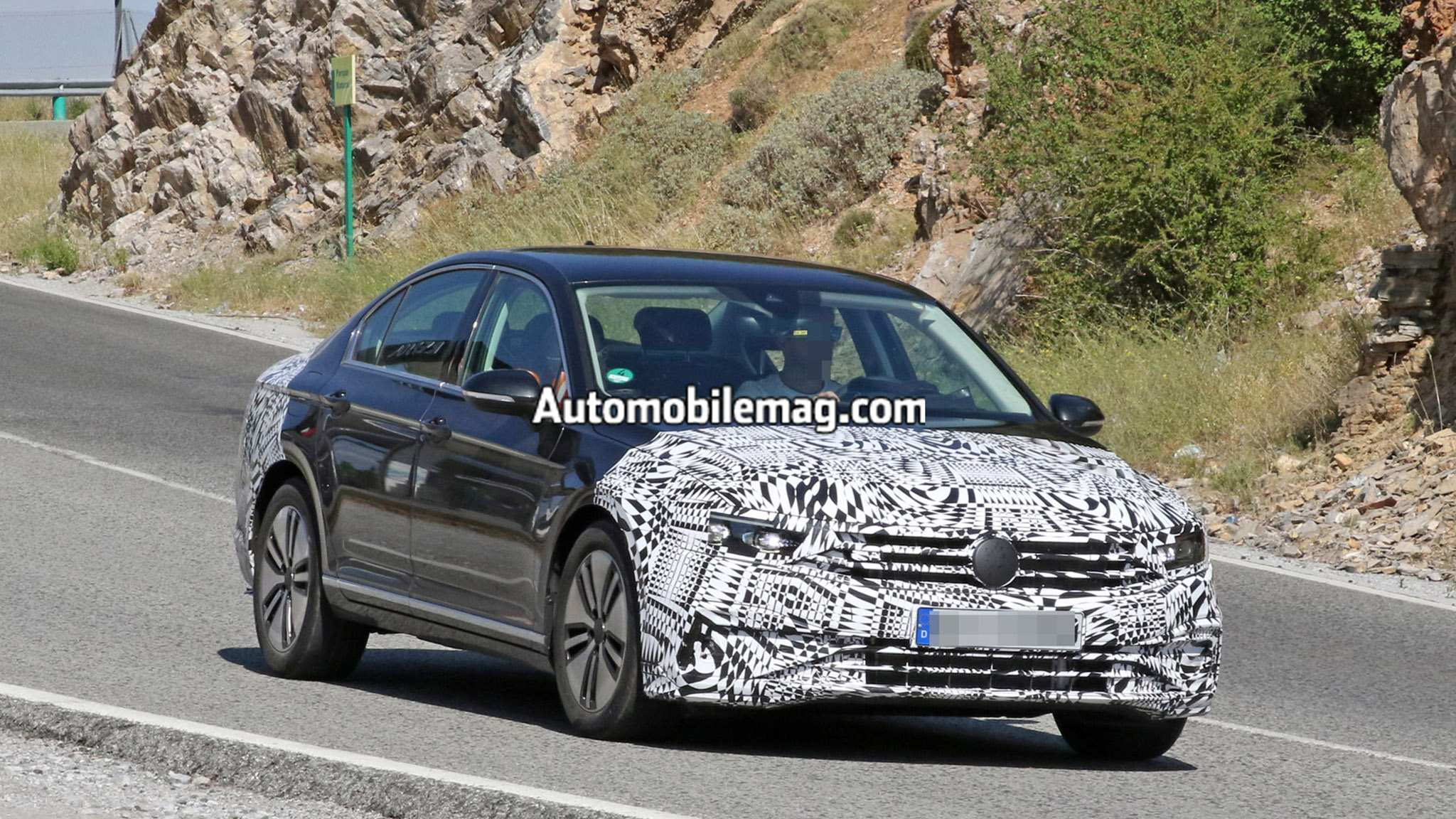 42 New The Volkswagen Passat 2019 Interior Spy Shoot Performance and New Engine by The Volkswagen Passat 2019 Interior Spy Shoot
