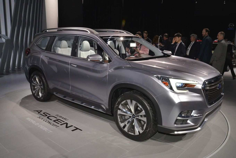 42 The Best Subaru 2019 Ascent Recall Spy Shoot Release Date by Best Subaru 2019 Ascent Recall Spy Shoot