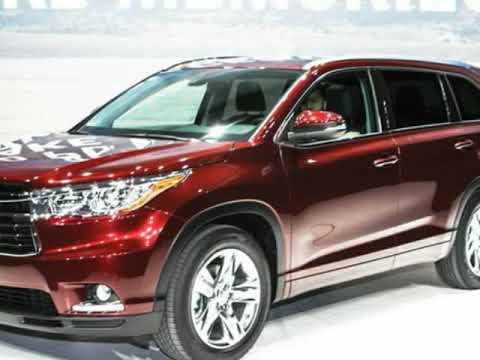 43 New Toyota 2019 Highlander Colors Overview Spesification for Toyota 2019 Highlander Colors Overview