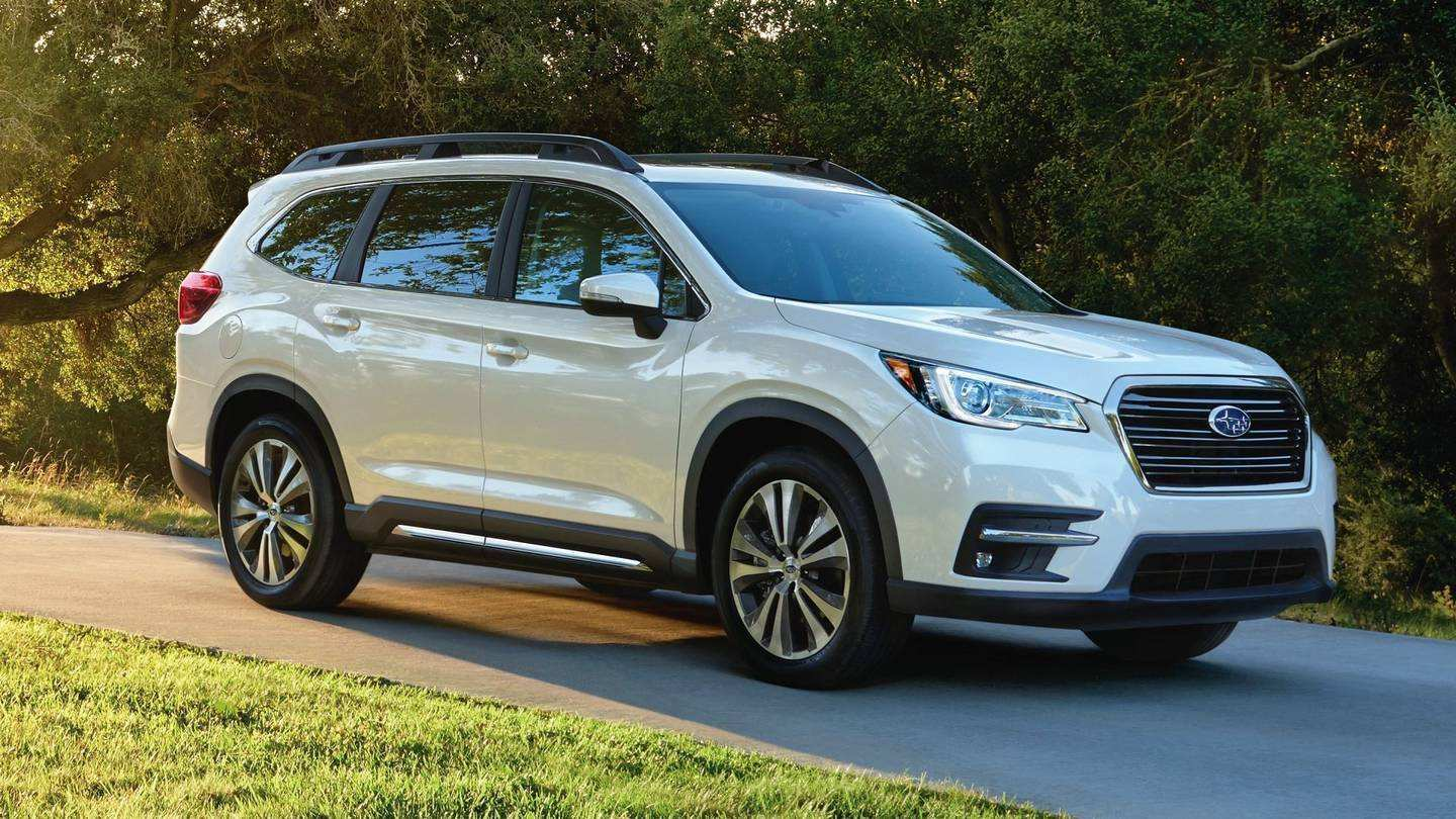 44 All New 2019 Subaru Ascent Gvwr Spy Shoot for 2019 Subaru Ascent Gvwr