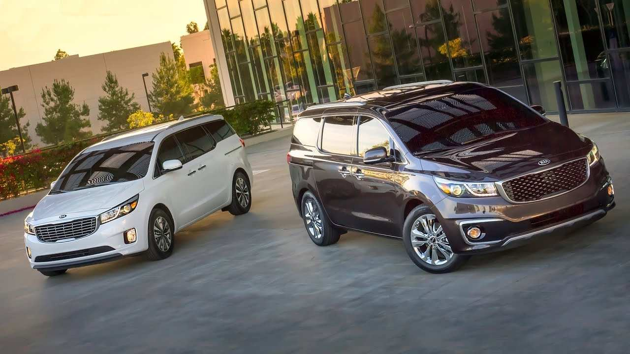 44 All New The Kia Minivan 2019 Exterior Redesign with The Kia Minivan 2019 Exterior