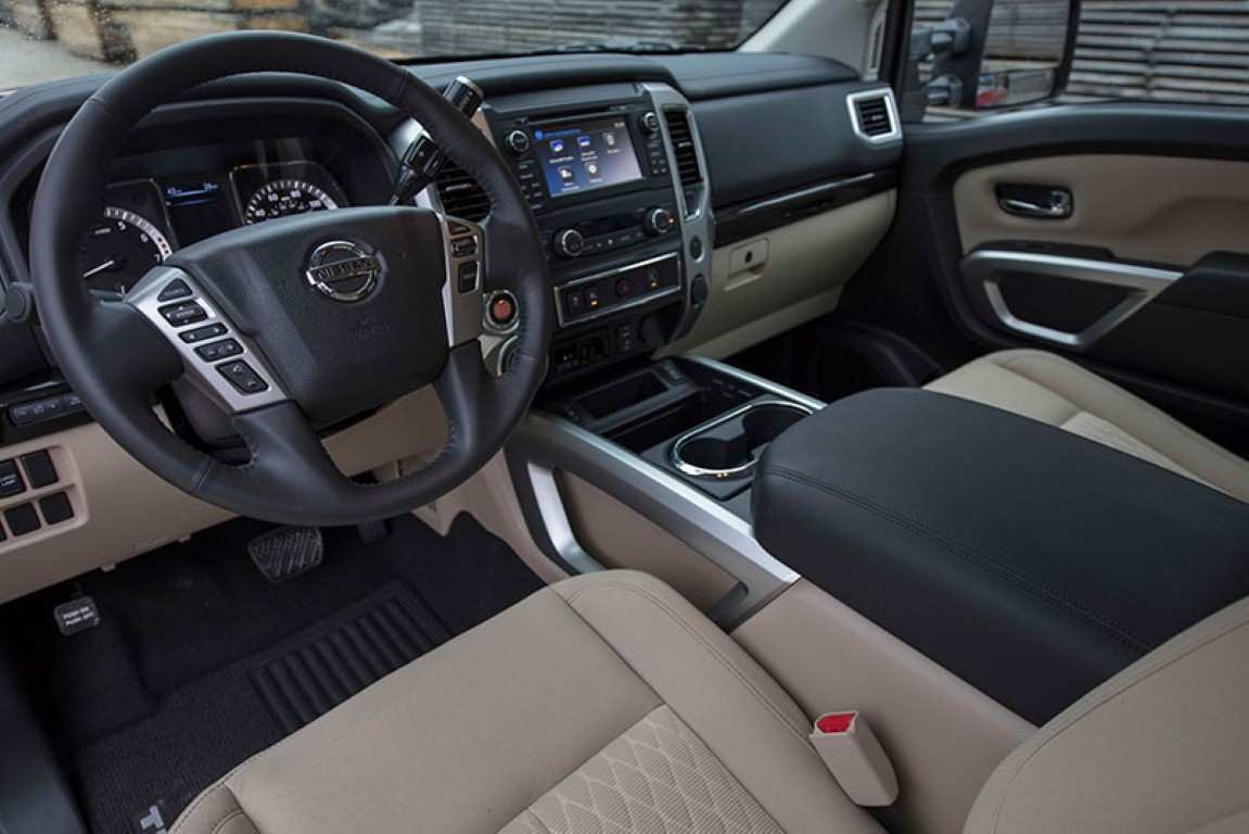 45 Concept of 2019 Nissan Titan Interior Pictures with 2019 Nissan Titan Interior