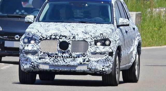 45 New Gle Mercedes 2019 Spy Shoot Concept for Gle Mercedes 2019 Spy Shoot