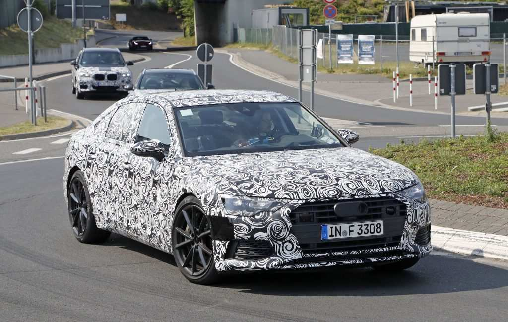 45 The The Audi 2019 Changes Spy Shoot Exterior by The Audi 2019 Changes Spy Shoot