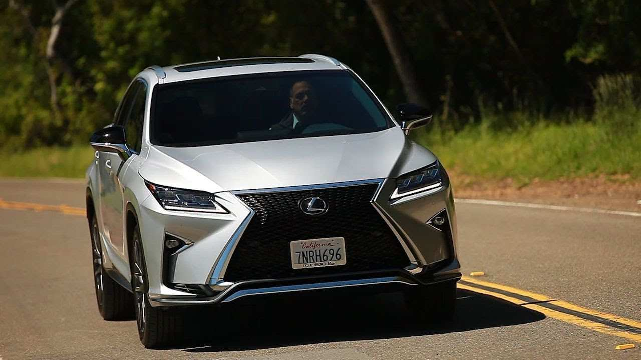 46 All New Best Lexus 2019 Rx Spy Shoot Rumors with Best Lexus 2019 Rx Spy Shoot