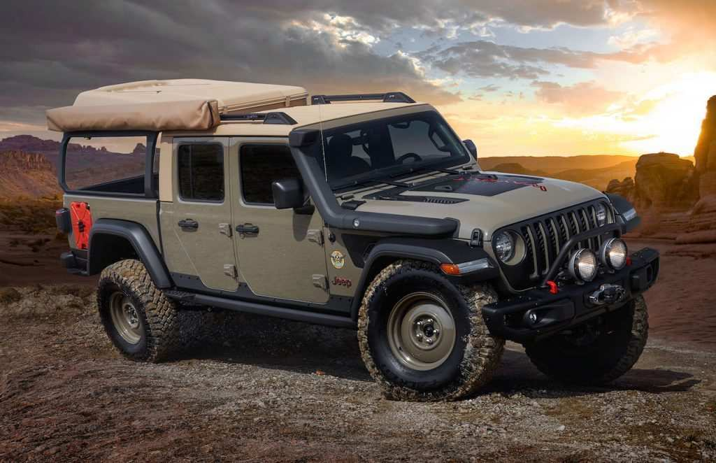 46 Gallery of Jeep 2019 Overland Concept Performance and New Engine by Jeep 2019 Overland Concept