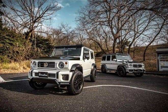 46 Gallery of Jimny 2019 Mercedes New Concept History by Jimny 2019 Mercedes New Concept