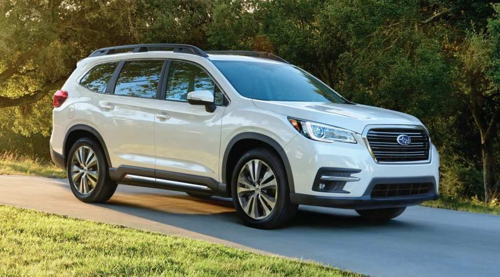 46 New New Subaru 2019 Ascent Colors Spy Shoot Pricing with New Subaru 2019 Ascent Colors Spy Shoot