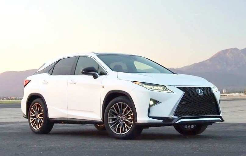 46 The New Lexus Rx 350 Redesign 2019 Release Specs And Review Exterior by New Lexus Rx 350 Redesign 2019 Release Specs And Review