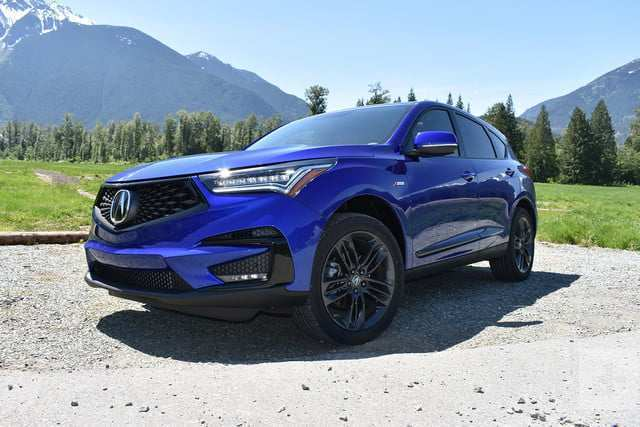 47 The Acura 2019 Crossover First Drive Spy Shoot with Acura 2019 Crossover First Drive