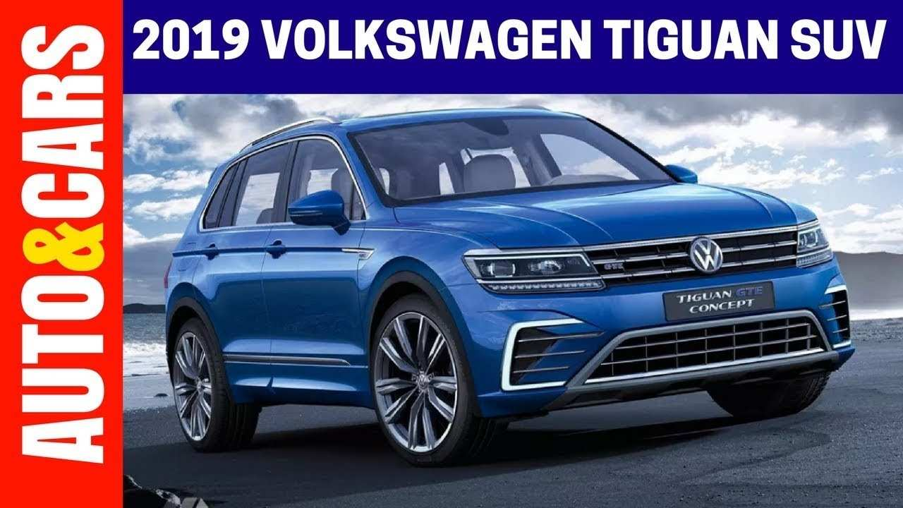 48 New Best Volkswagen 2019 Tiguan Concept Images with Best Volkswagen 2019 Tiguan Concept