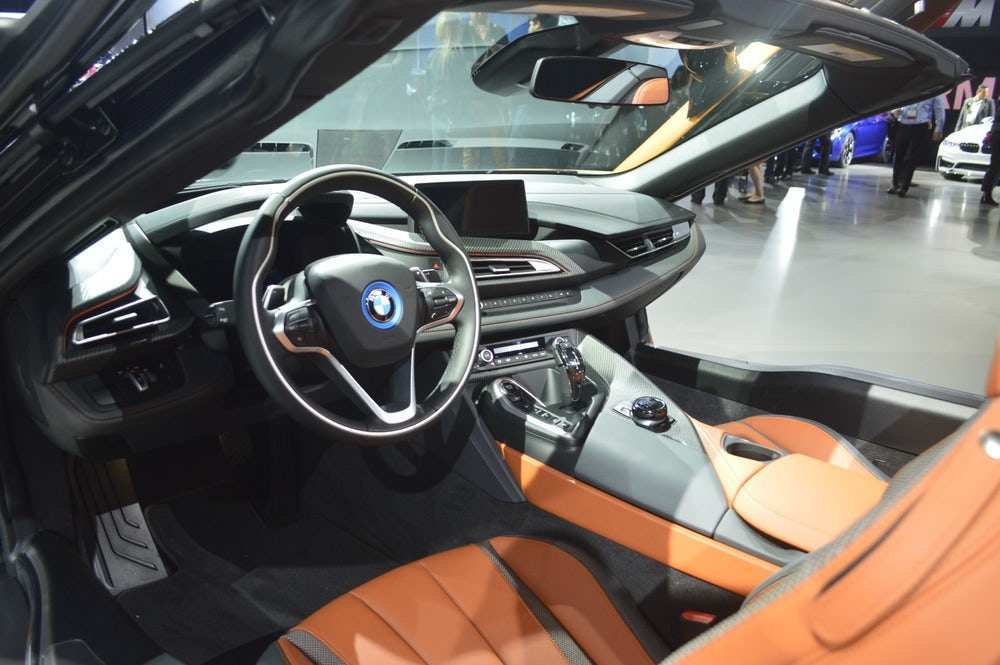 49 Gallery of New Bmw I8 Roadster 2019 Interior Price and Review with New Bmw I8 Roadster 2019 Interior