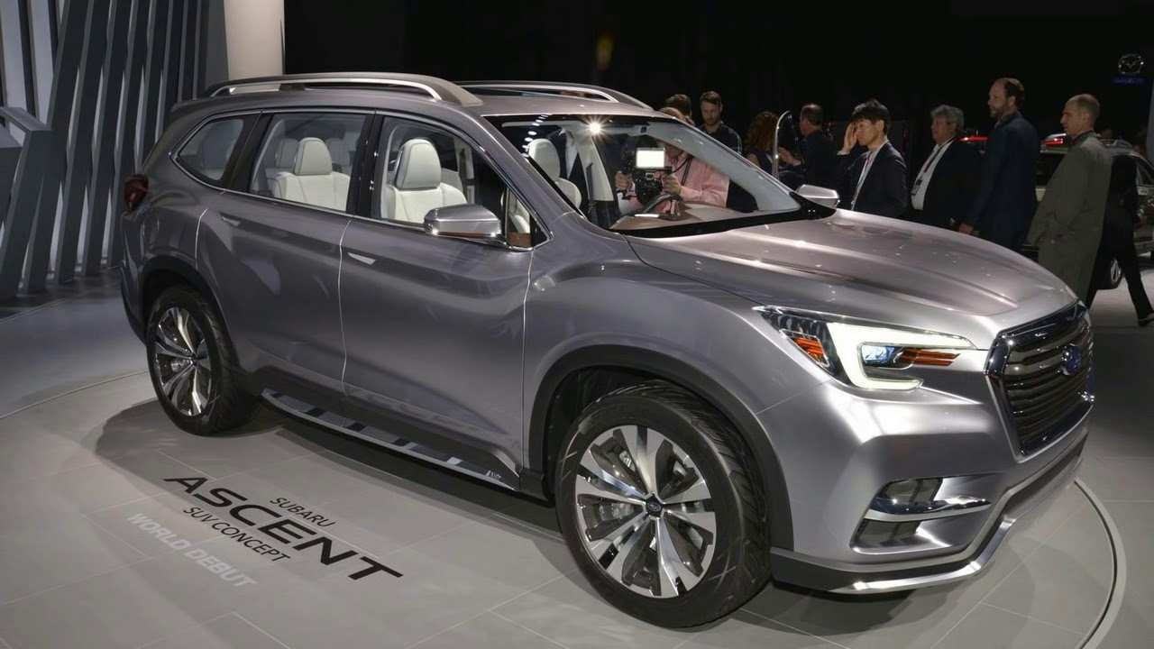 49 Gallery of The 2019 Subaru Forester Sport Concept Release Date with The 2019 Subaru Forester Sport Concept