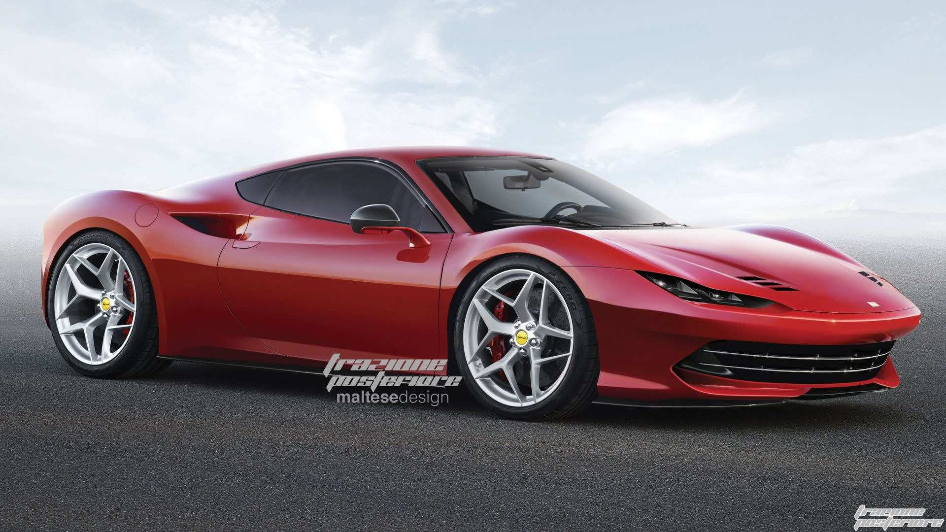 50 Concept of Dino Ferrari 2019 Engine Exterior with Dino Ferrari 2019 Engine