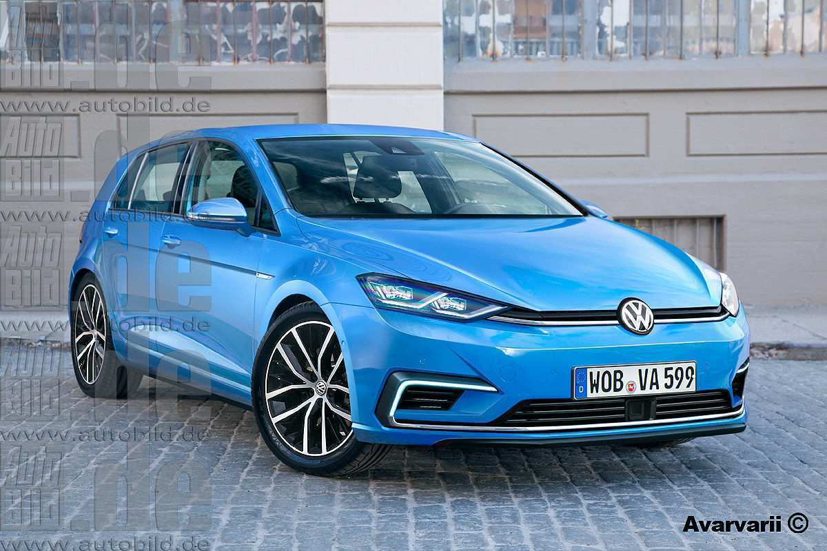 50 New New Volkswagen R 2019 Redesign Spy Shoot with New Volkswagen R 2019 Redesign