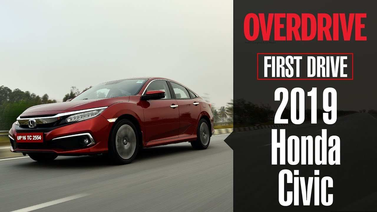 52 All New The The New Honda 2019 First Drive Picture for The The New Honda 2019 First Drive