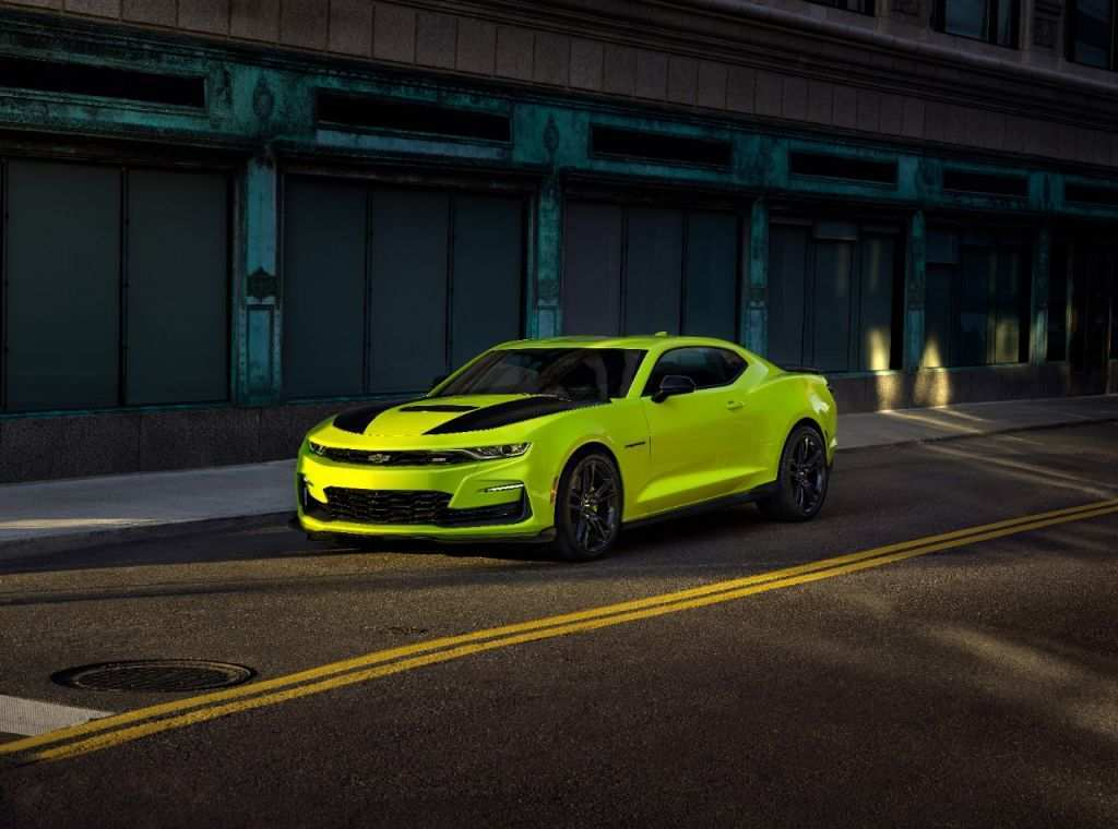 52 Gallery of The 2019 Chevrolet Camaro Yellow Exterior Overview with The 2019 Chevrolet Camaro Yellow Exterior