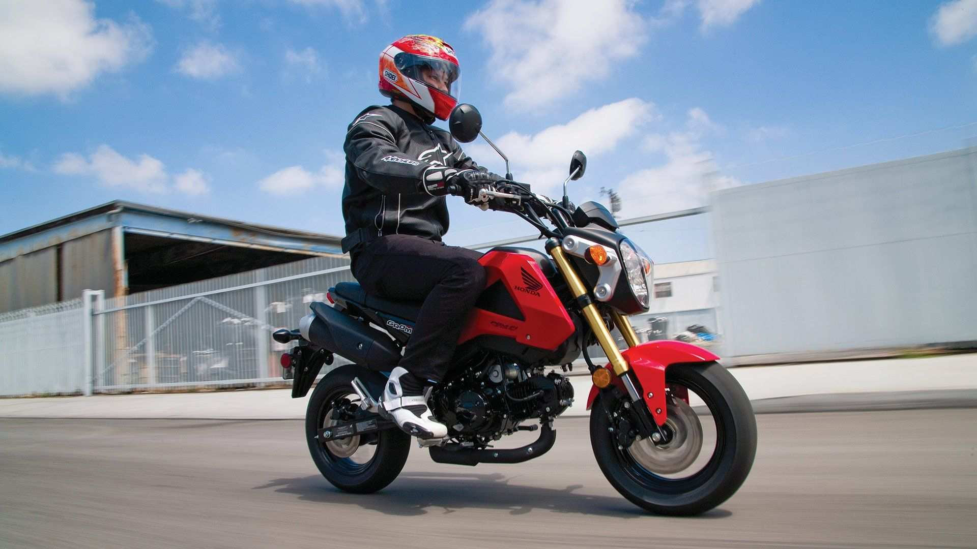 52 Gallery of The 2019 Honda Grom Top Speed Spy Shoot Photos with The 2019 Honda Grom Top Speed Spy Shoot