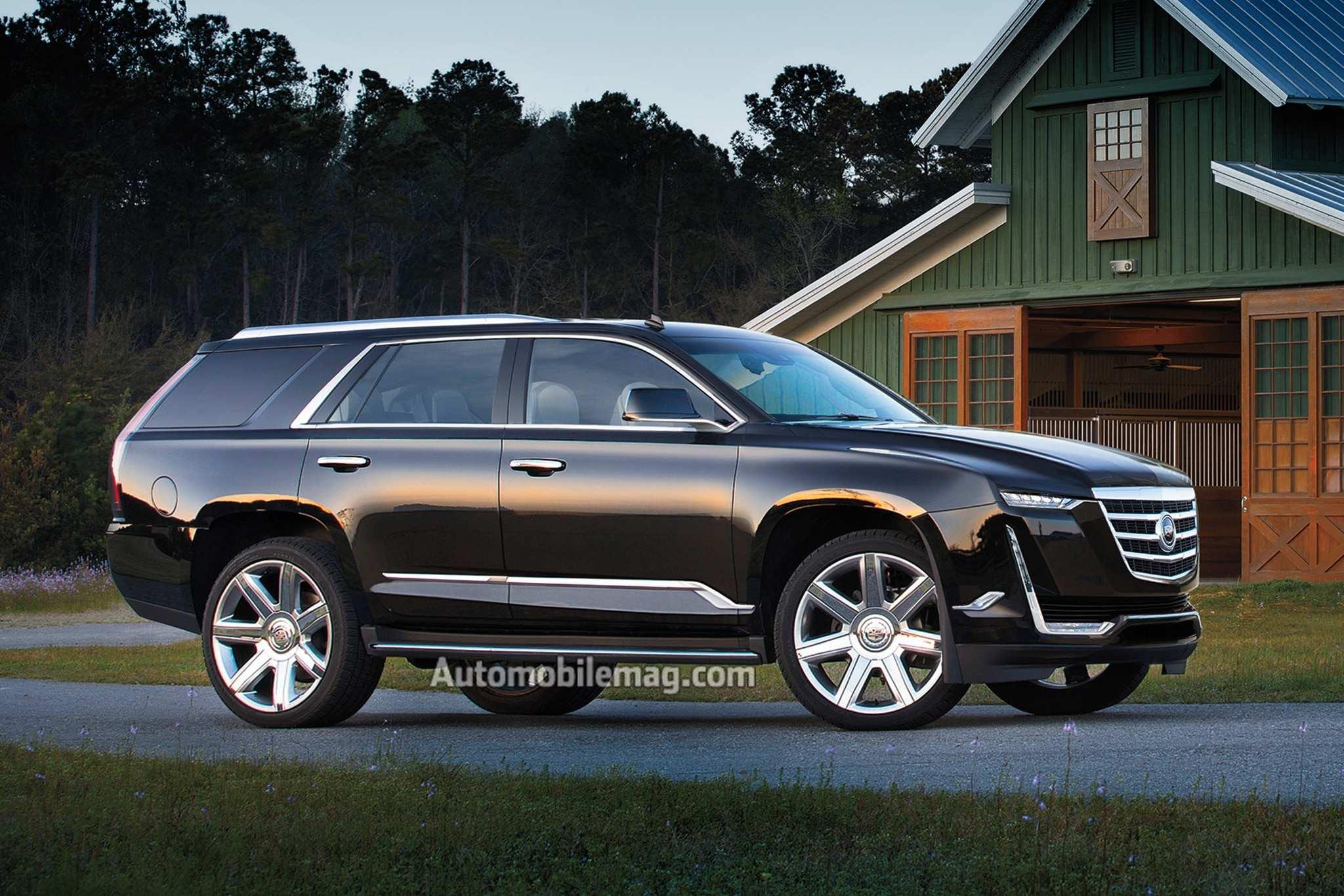 52 New New 2019 Cadillac Escalade Build New Review Concept