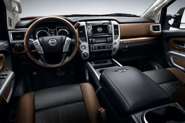 53 New 2019 Nissan Titan Interior First Drive for 2019 Nissan Titan Interior