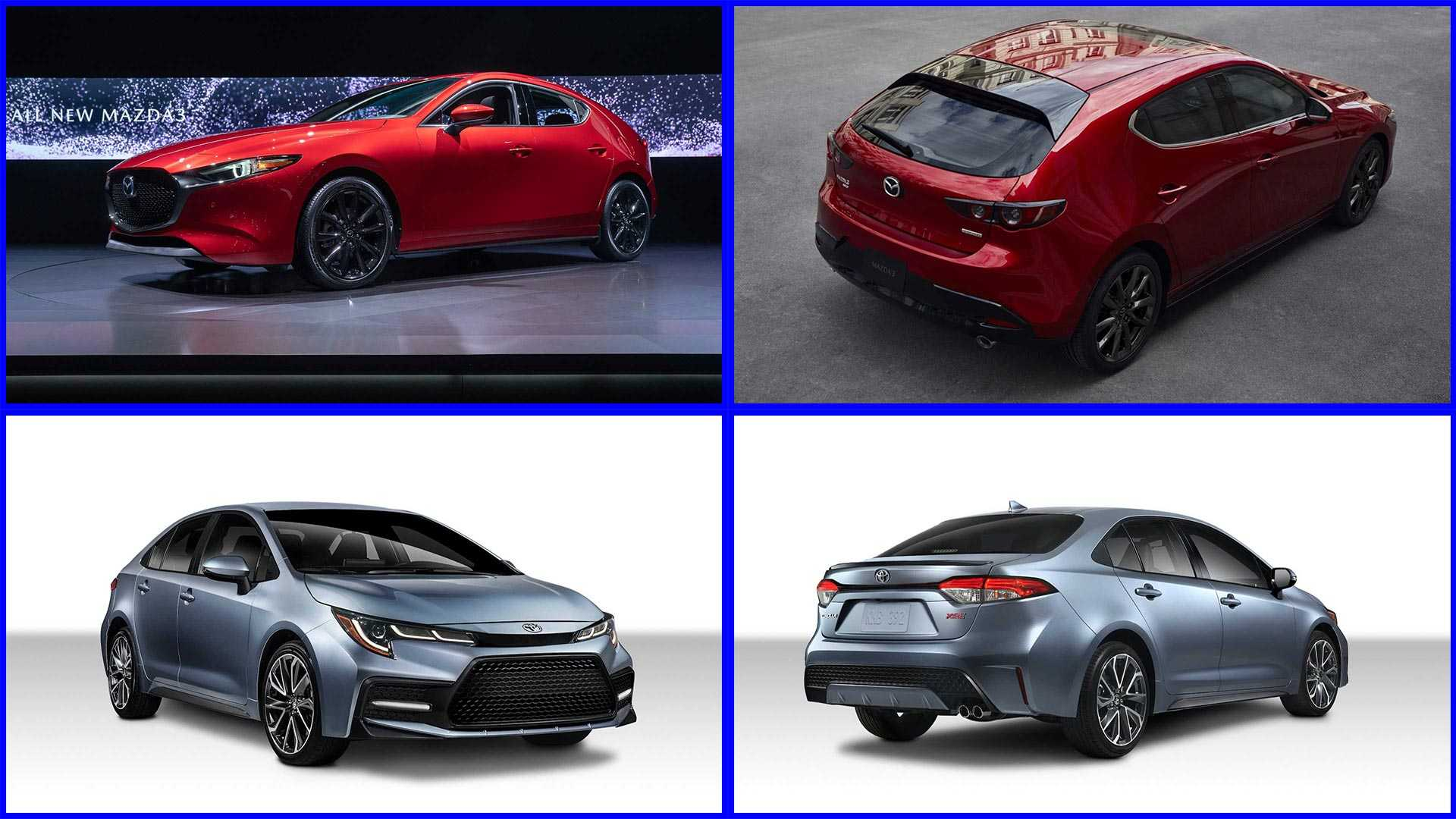 53 The New 2019 Corolla Hatchback Vs Mazda 3 Specs New Review with New 2019 Corolla Hatchback Vs Mazda 3 Specs