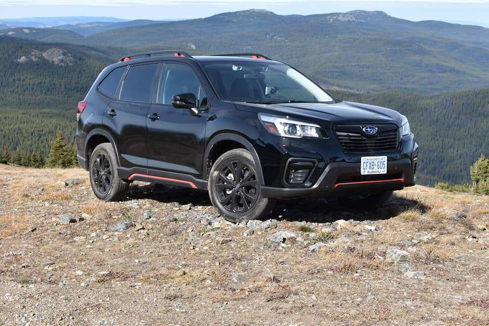 54 Concept of The 2019 Subaru Forester Sport Concept Speed Test for The 2019 Subaru Forester Sport Concept