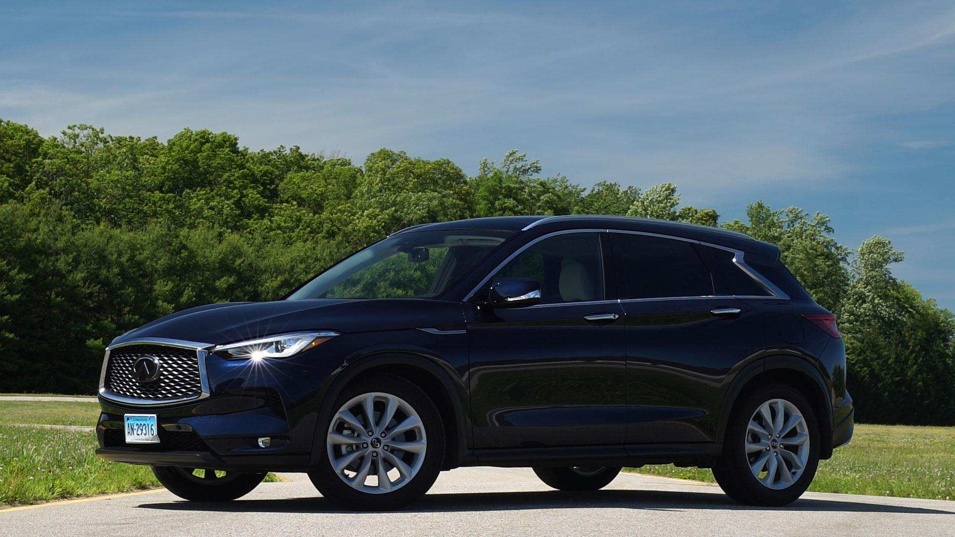 54 New The Infiniti Qx50 2019 Black First Drive Price and Review with The Infiniti Qx50 2019 Black First Drive