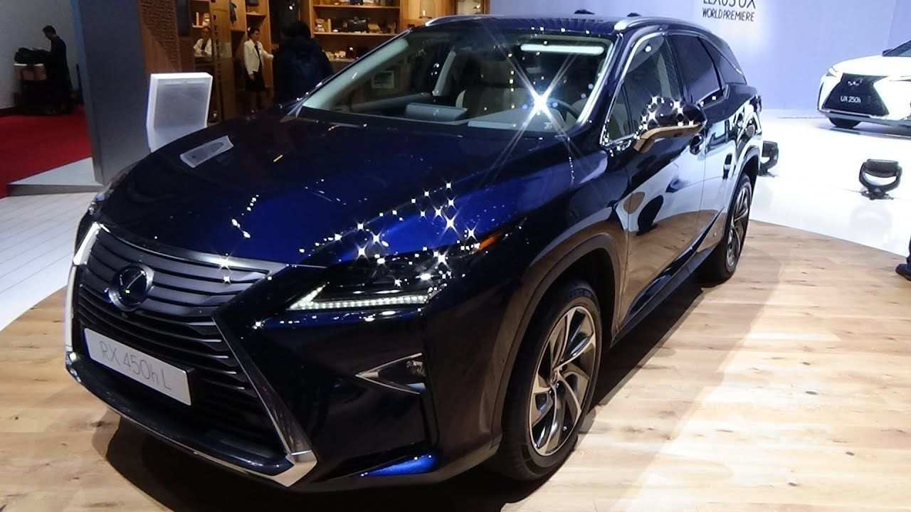54 The Best Lexus 2019 Rx Spy Shoot Performance and New Engine with Best Lexus 2019 Rx Spy Shoot