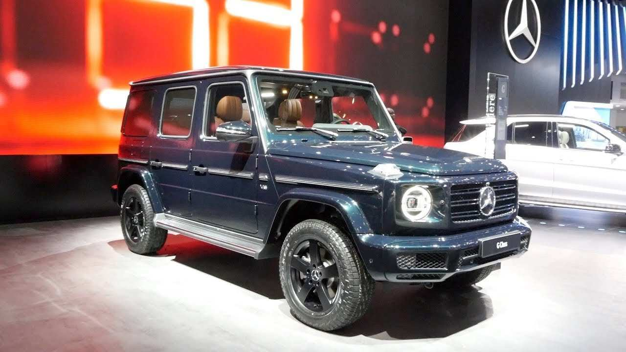 55 New G550 Mercedes 2019 New Concept with G550 Mercedes 2019